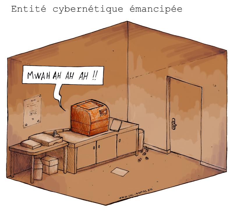 imprimante-entite-cybernetique-emancipee